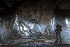 Wallpaper : 1920x1080 px, armor, concept art, Halo 5, Master