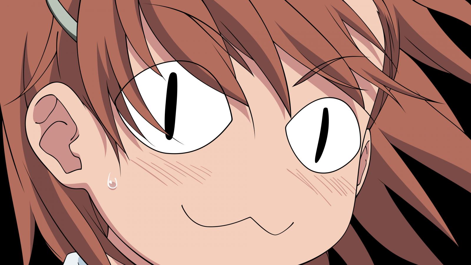 Смешные картинки девушки аниме