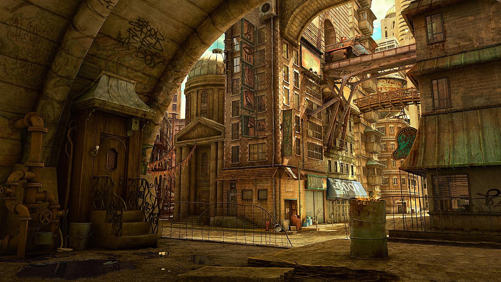 Base en Arabasta Cityscape_fantasy_city_fantasy_art_Tekkon_Kinkreet-212440
