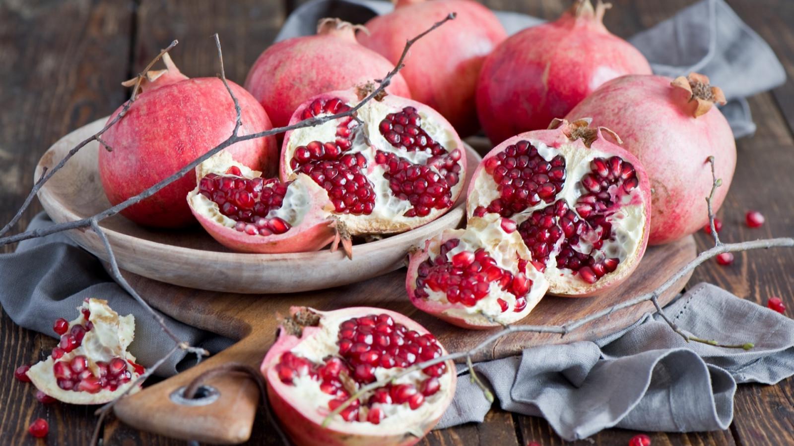 makanan buah delima menanam menghasilkan