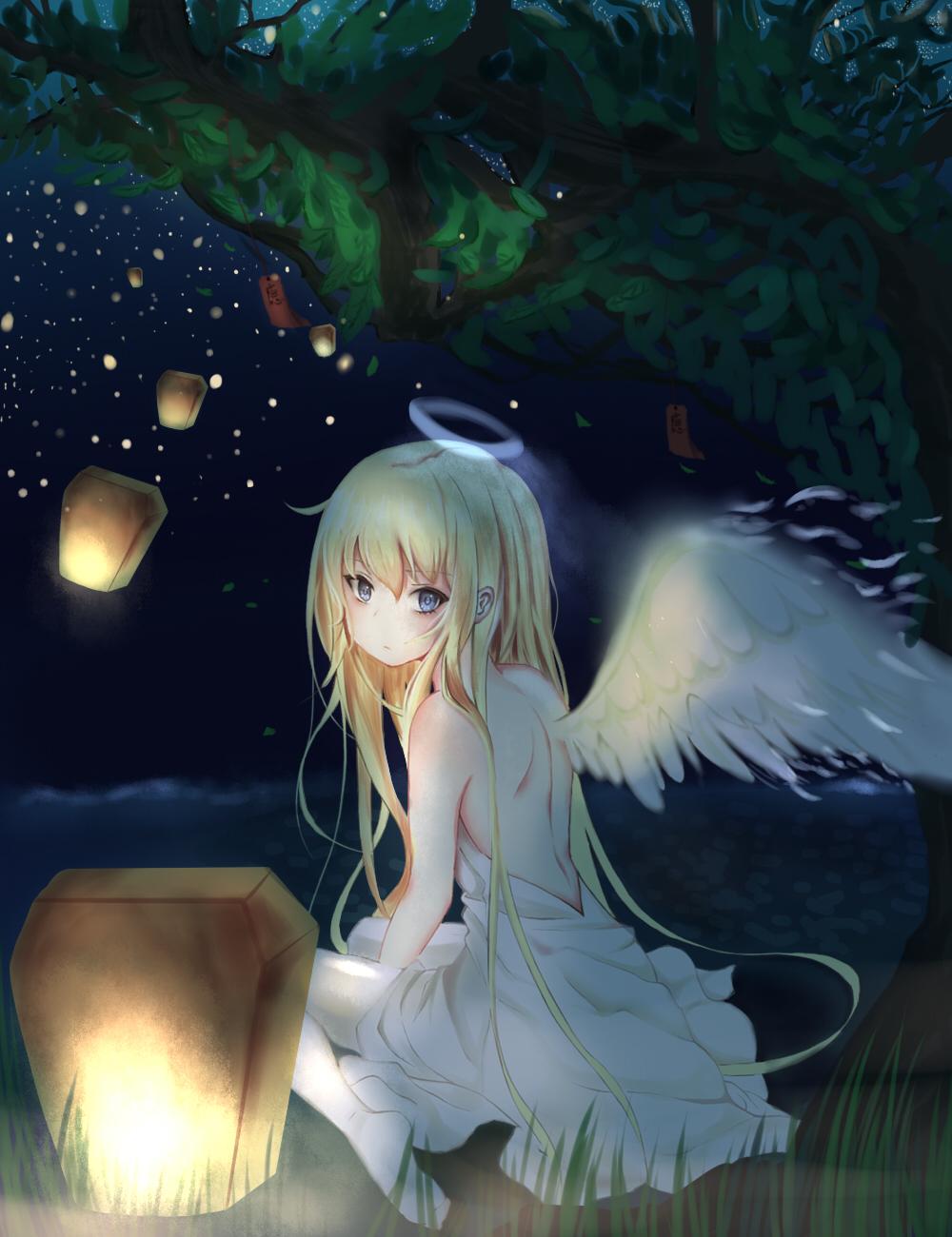 Аниме картинки ангелов