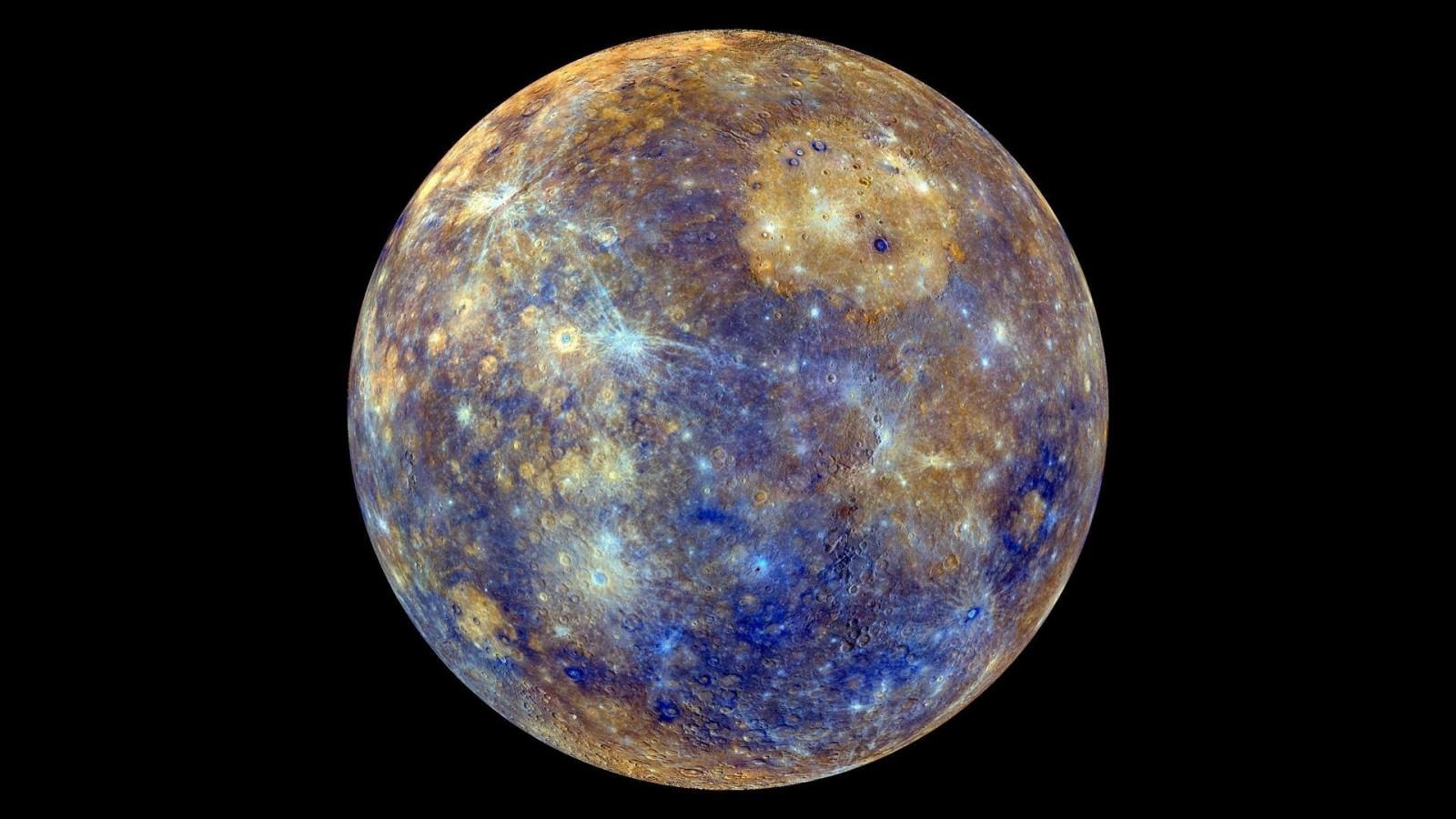 planet Mercury space shine