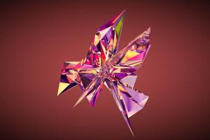 Wallpaper Skull Face Digital Art Pink Illustration Vector