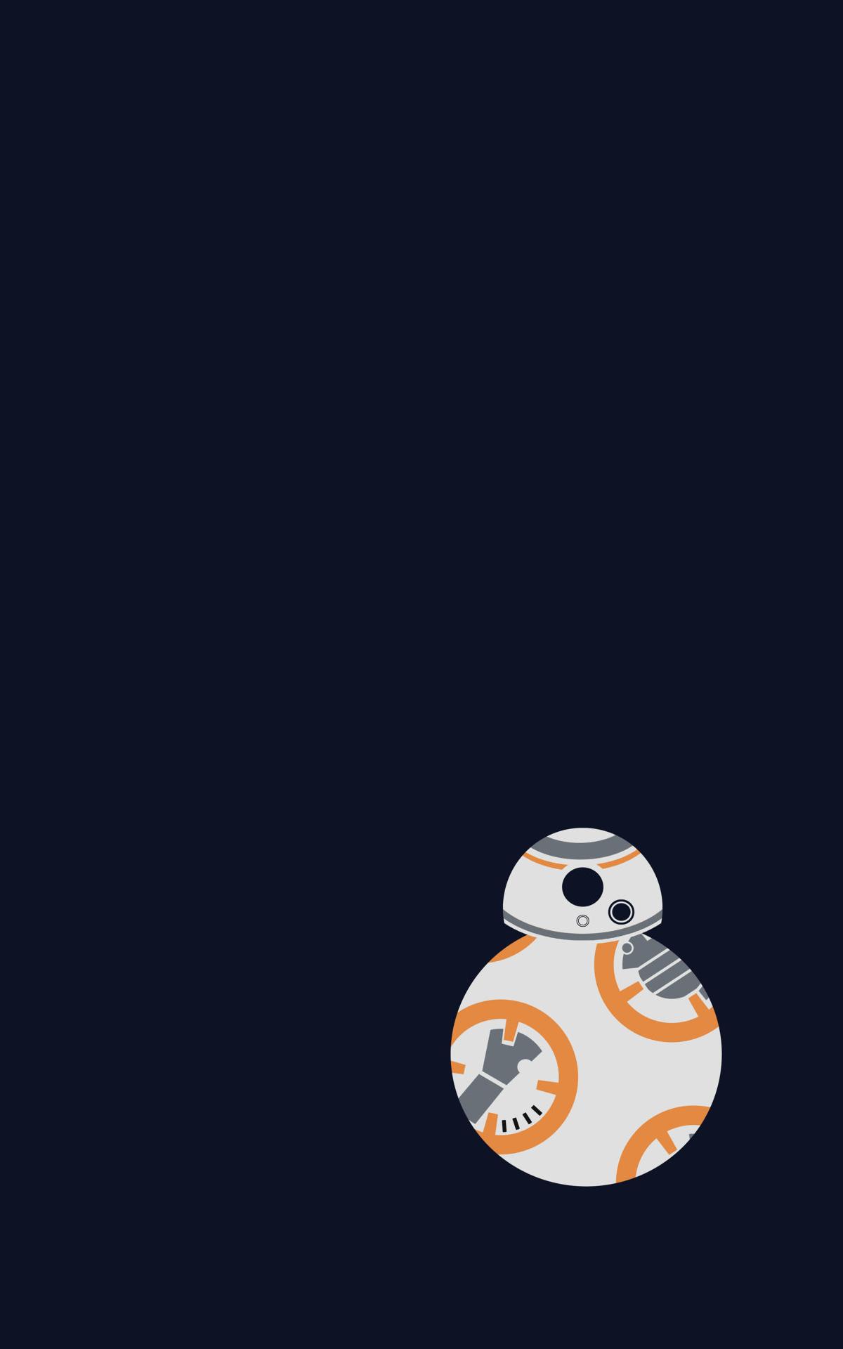 Wallpaper Illustration Star Wars Robot Minimalism Portrait Display Logo Cartoon Star Wars The Force Awakens Bb 8 Computer Wallpaper 1200x1920 Criseva01 58235 Hd Wallpapers Wallhere