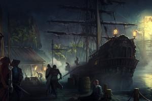 Wallpaper Ship Fantasy Art Artwork Ghost Pirates Dead