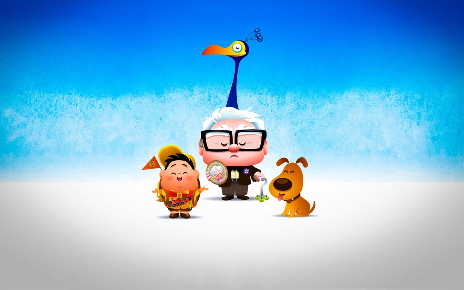 Karikatürler Pixar: en iyi liste