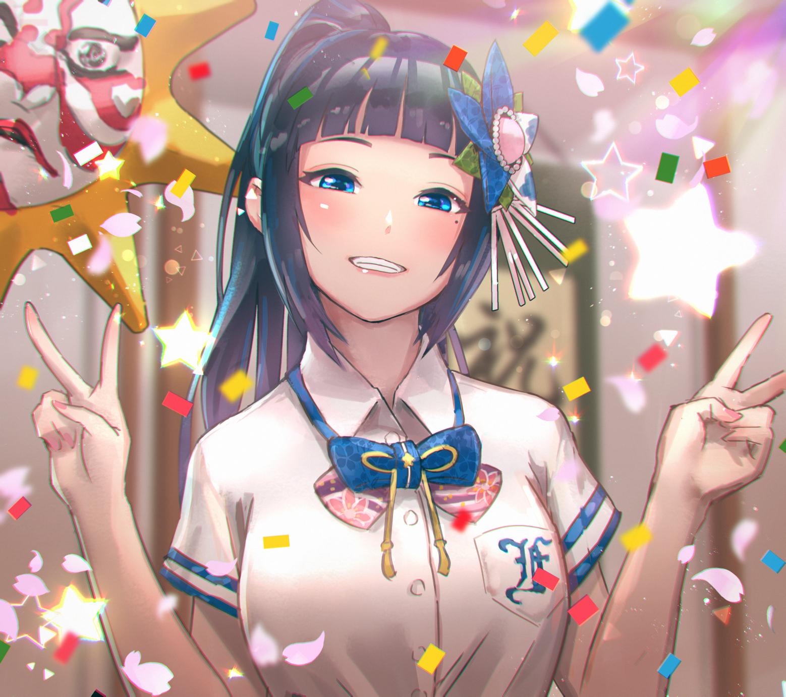 Wallpaper : anime girls, Virtual Youtuber, fan art, women, dark
