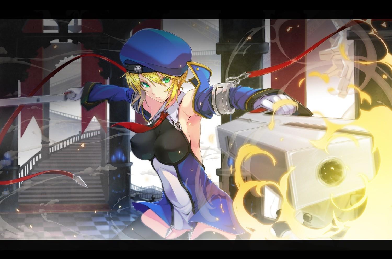 Anime Girls Machine Blazblue Noel Vermillion Games Screenshot 1500x991 Px