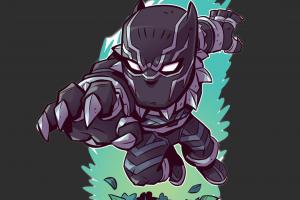 papel de parede ilustração super heroi marvel comics pantera