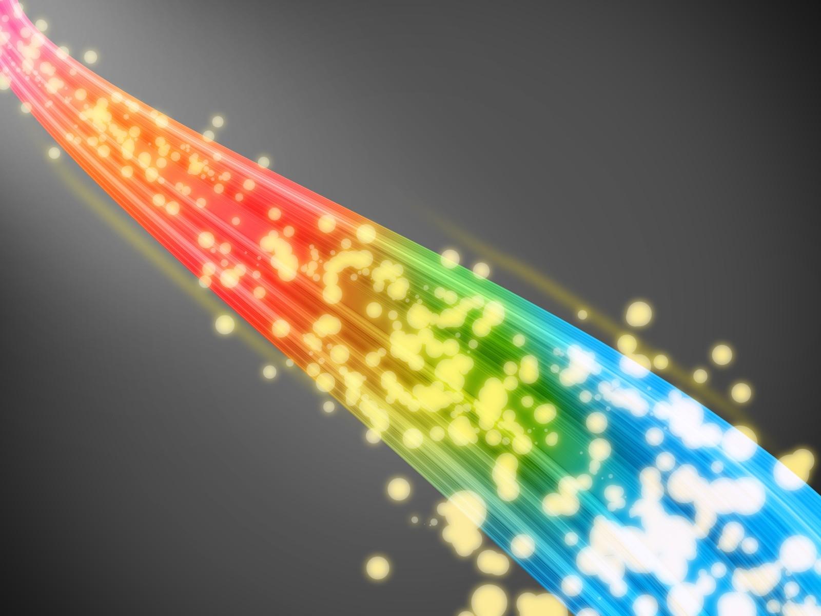 Как сделать цветной блик