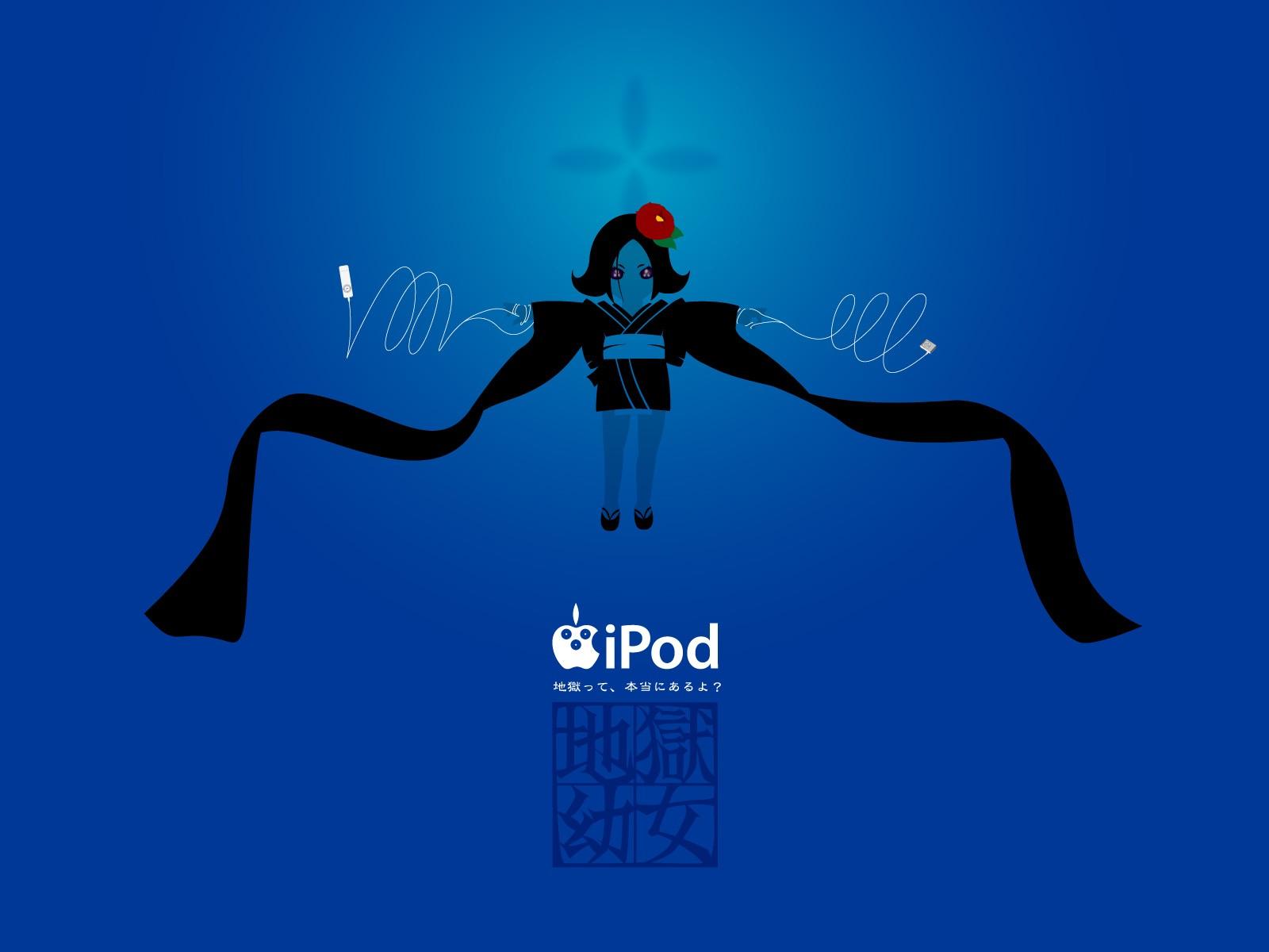 デスクトップ壁紙 図 アニメの女の子 Ipod 地獄少女 ブランド