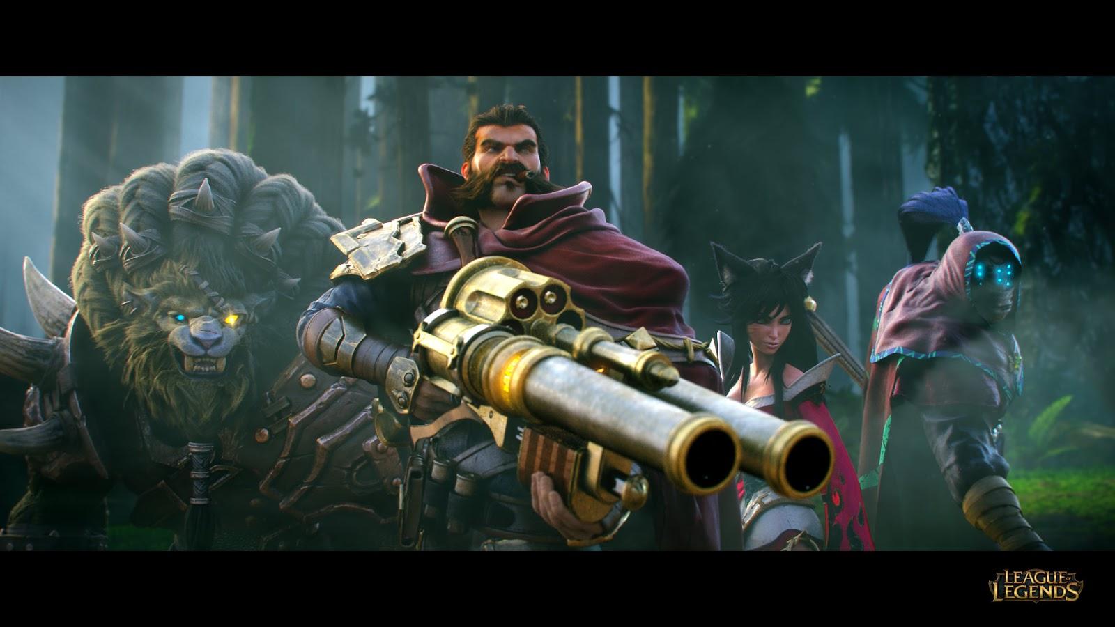 Wallpaper Video Games League Of Legends Grave Rengar
