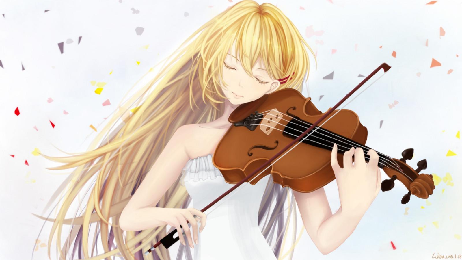 Про школу, открытки музыкальные аниме