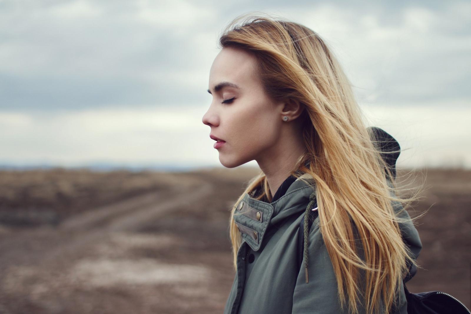 Wallpaper   Face  Women Outdoors  Model  Blonde  Long Hair