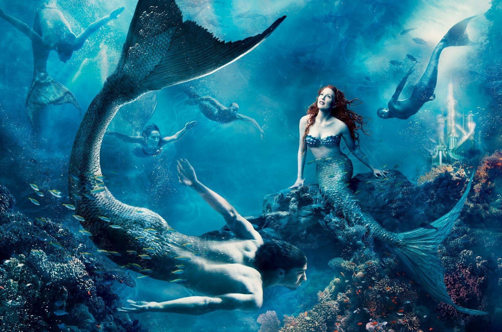 Fotos de la sirena encontrada en