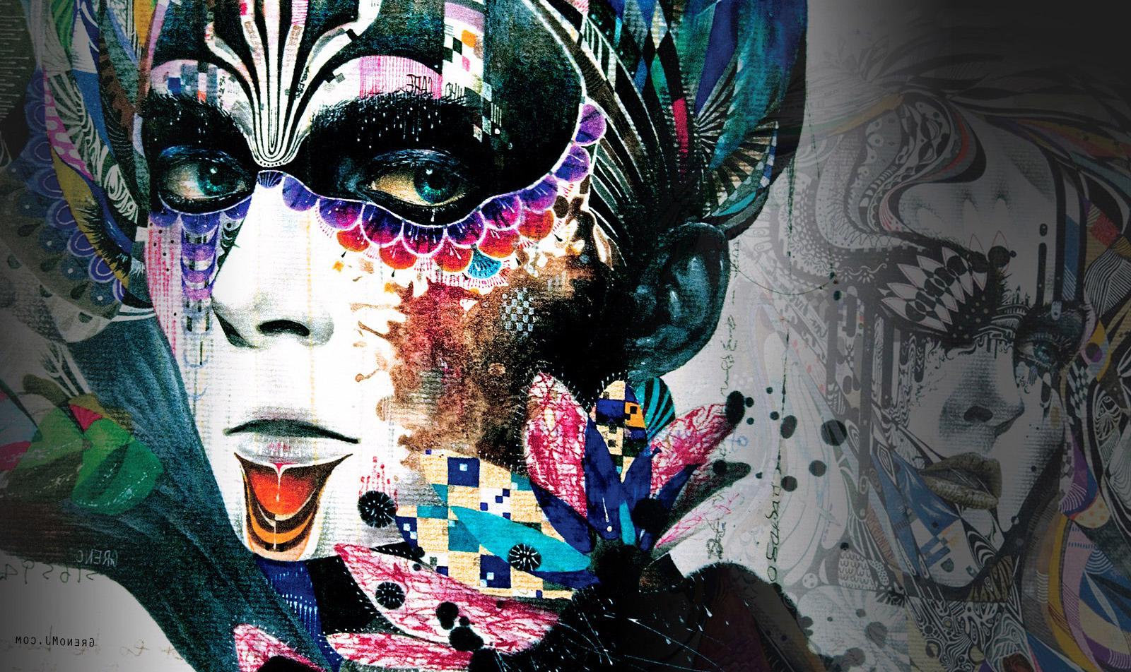 Wallpaper Illustration Graphic Design Roar Movie: Baggrunde : Plads, Grafisk Design, Gadekunst, Skitsere Op