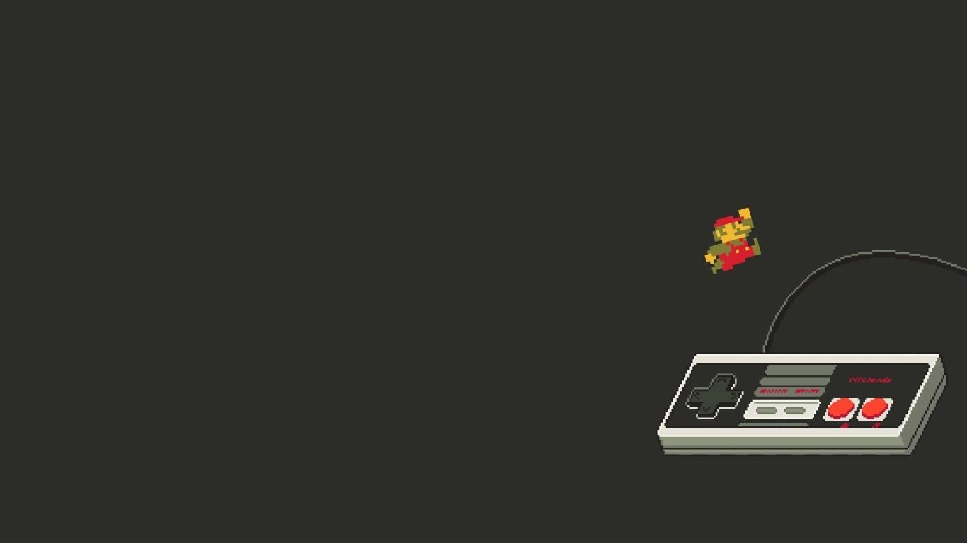 Fondos De Pantalla Minimalismo Texto Logo Controladores Retro