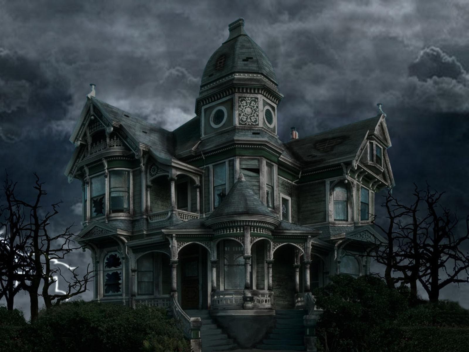 Fantasy Art Night Building House Church Gothic Architecture Estate Darkness Landmark Mansion Facade Screenshot 1600x1200 Px