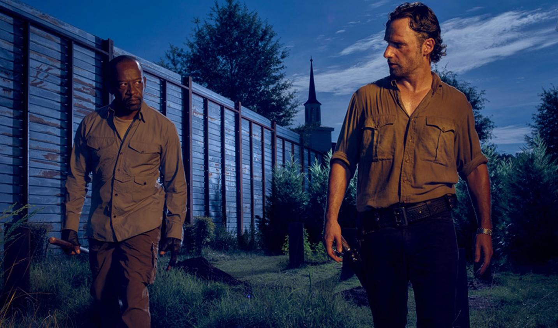 The walking dead 6 сезон