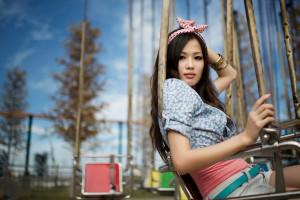 Wallpaper Aishiteruze Baby Girl Playground 1600x1200