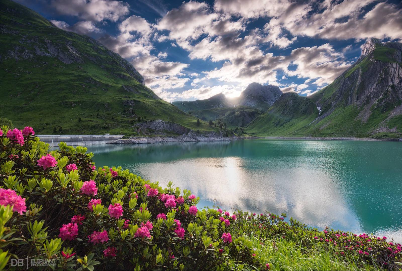 Картинки природа горы вода, днем рождения