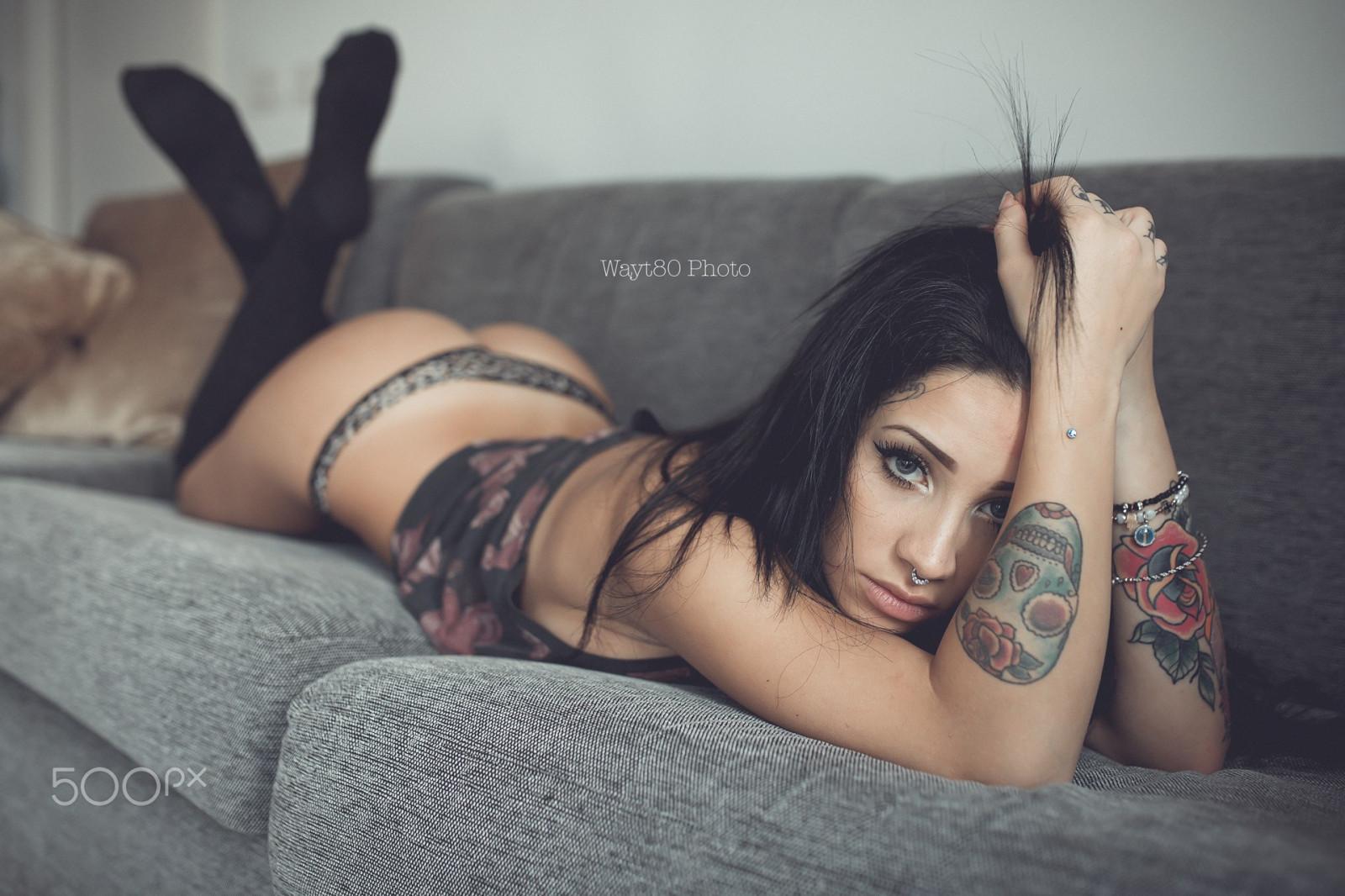 Skinny anal gape