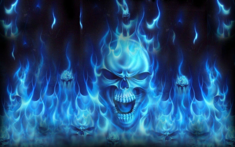 грибы картинки череп на синем фоне изменившимся веяниям моды