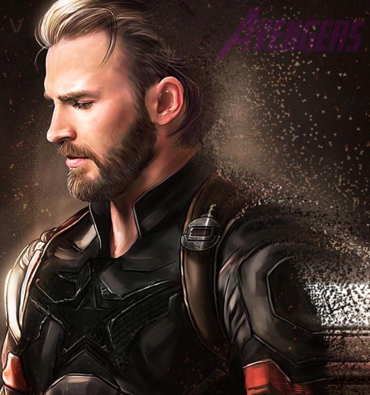 Wallpaper : Steve Rogers, Captain America, Avengers 4