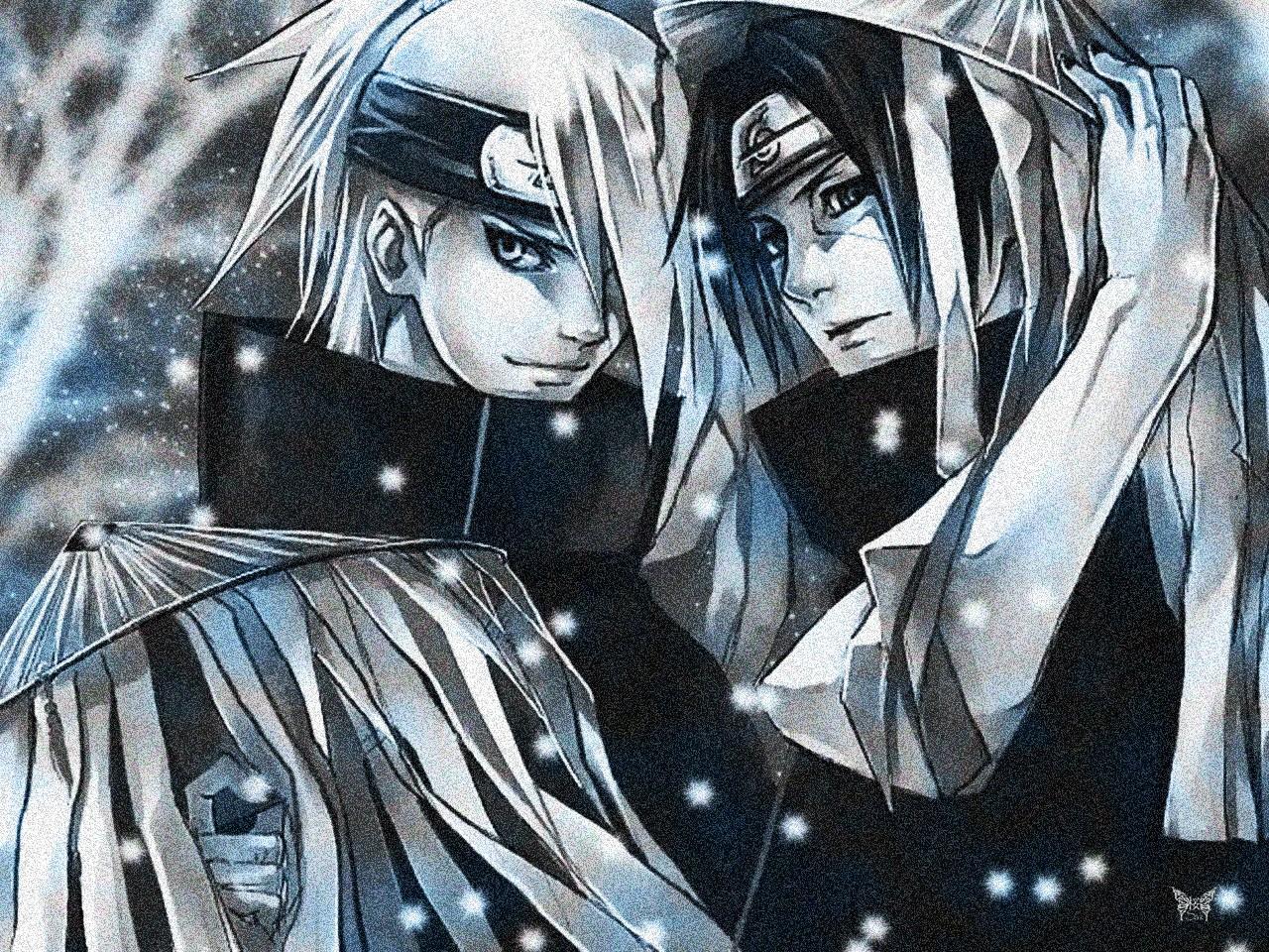 Wallpaper Gambar Ilustrasi Anime Naruto Shippuuden