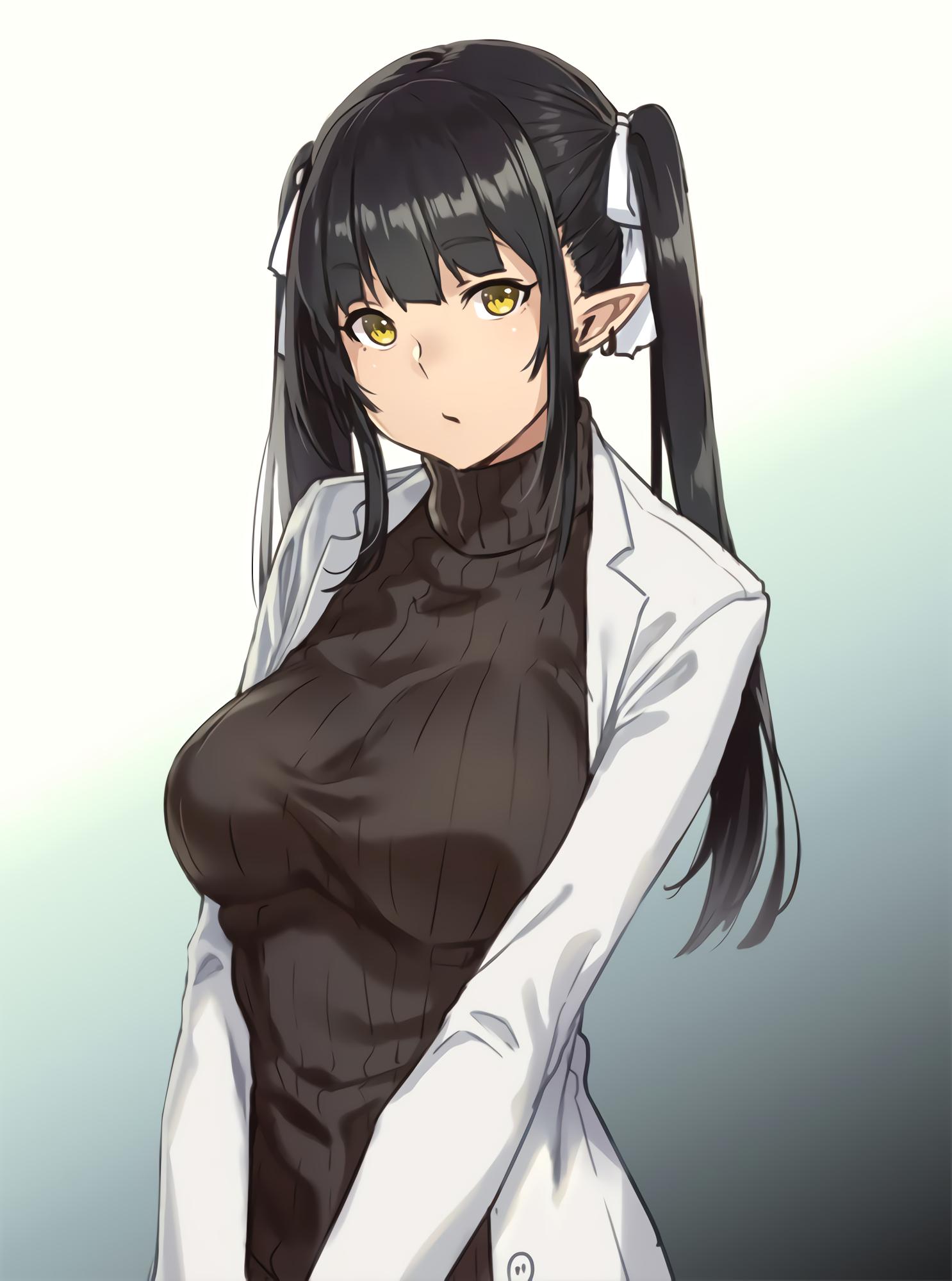 Anime Characters Don T Look Asian : Masaüstü elfler anime girls orijinal karakterler