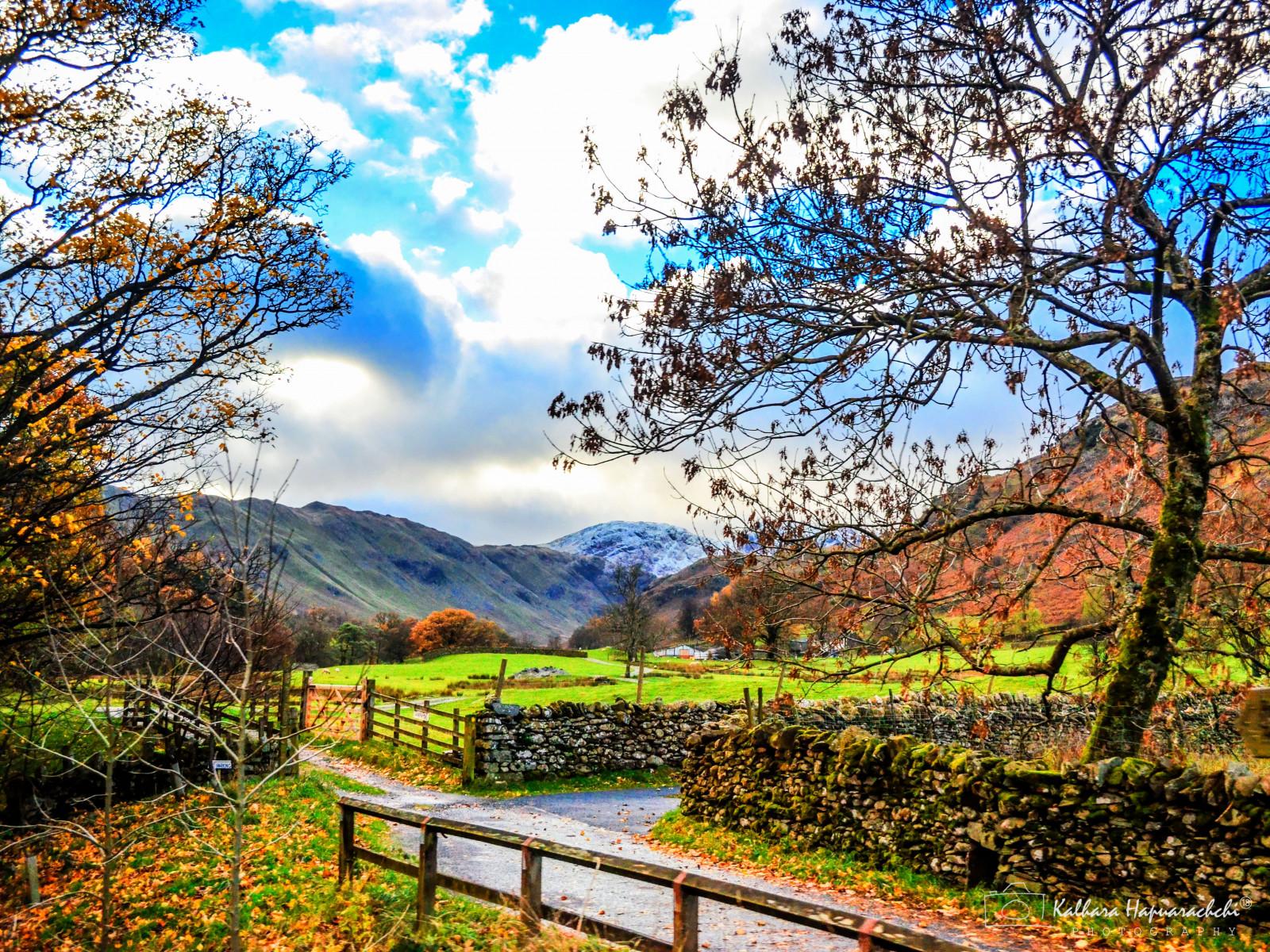 Fond d'écran : Royaume-Uni, grande Bretagne, l'automne, Angleterre, Montagne, paysage, campagne ...