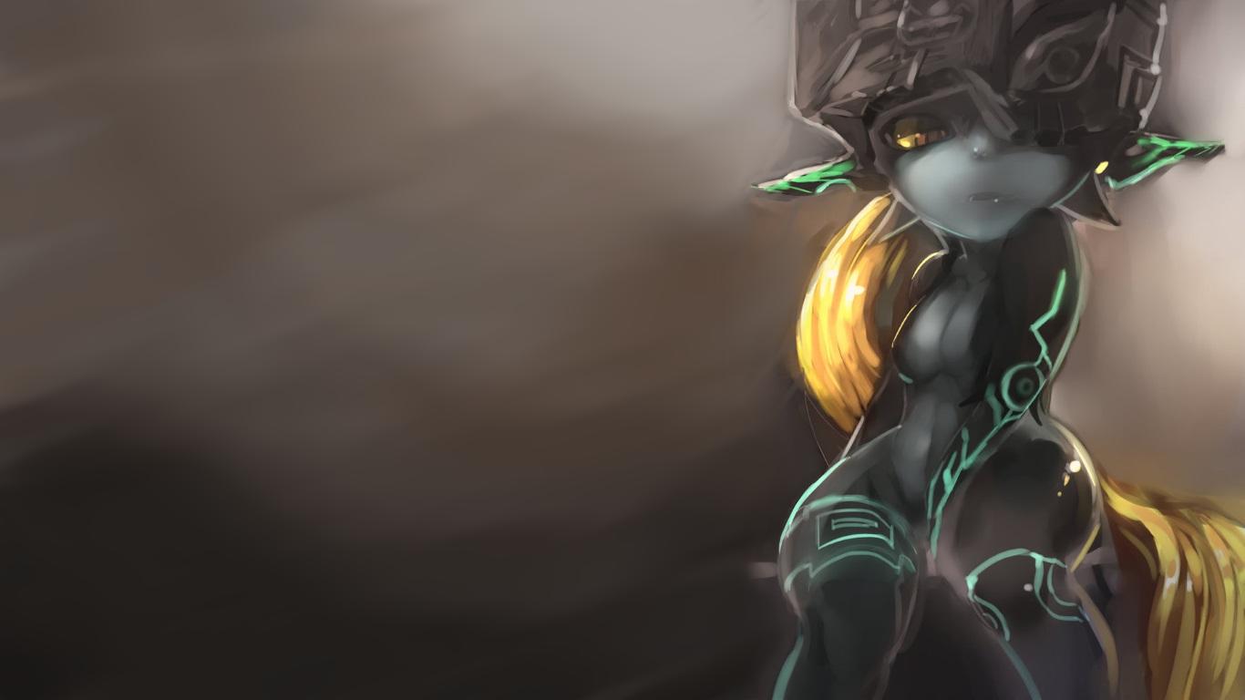 วอลเปเปอร์ : Midna, ตำนานของ Zelda เจ้าหญิงทไวไลท์, เดอะเล ...