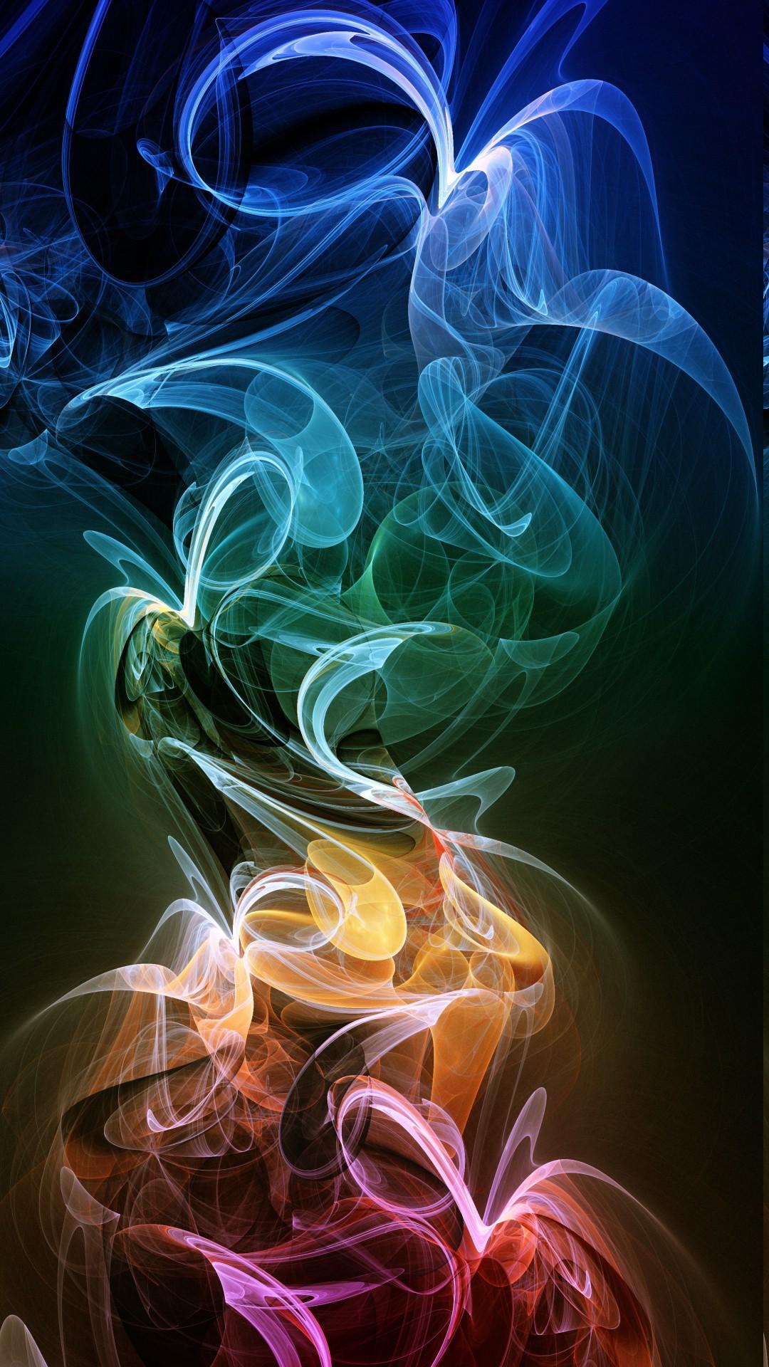 wallpaper illustration abstract smoke graphic design art