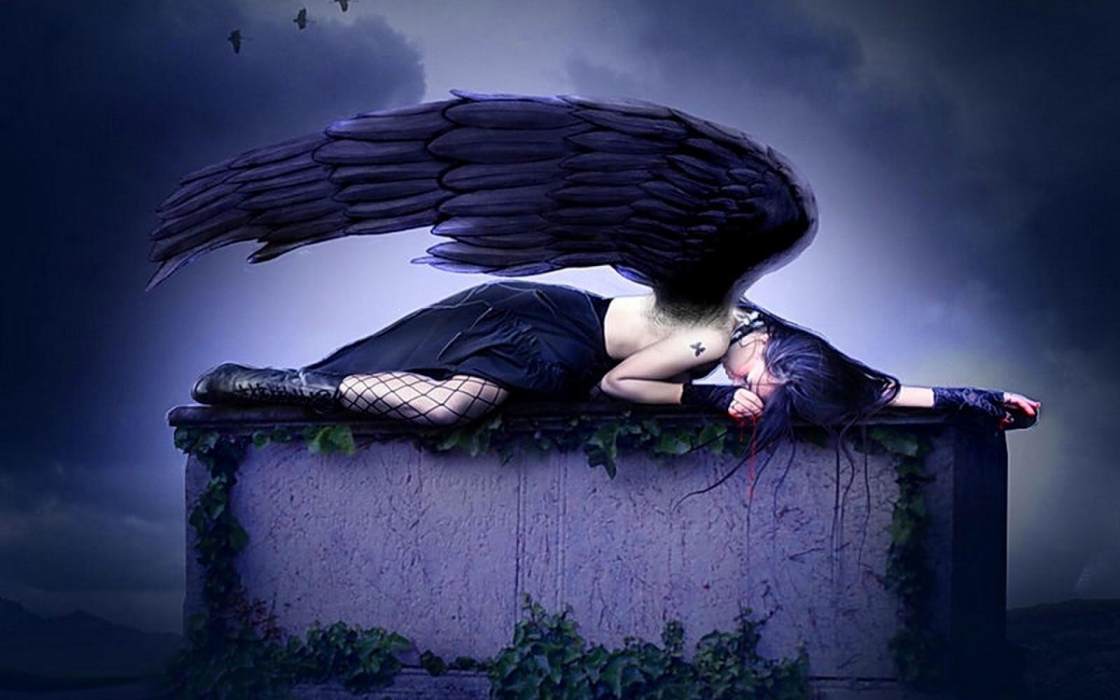 Картинки грустных ангелов, для детей