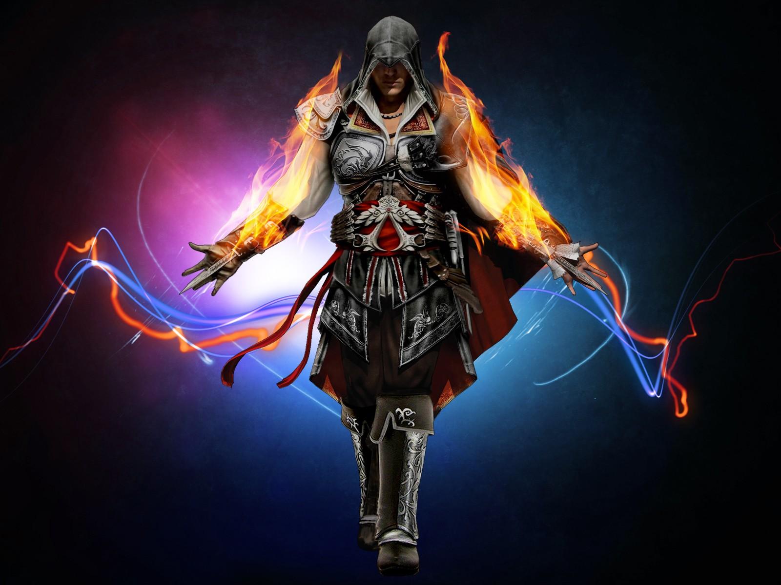 Wallpaper Illustration Digital Art Video Games Assassin S
