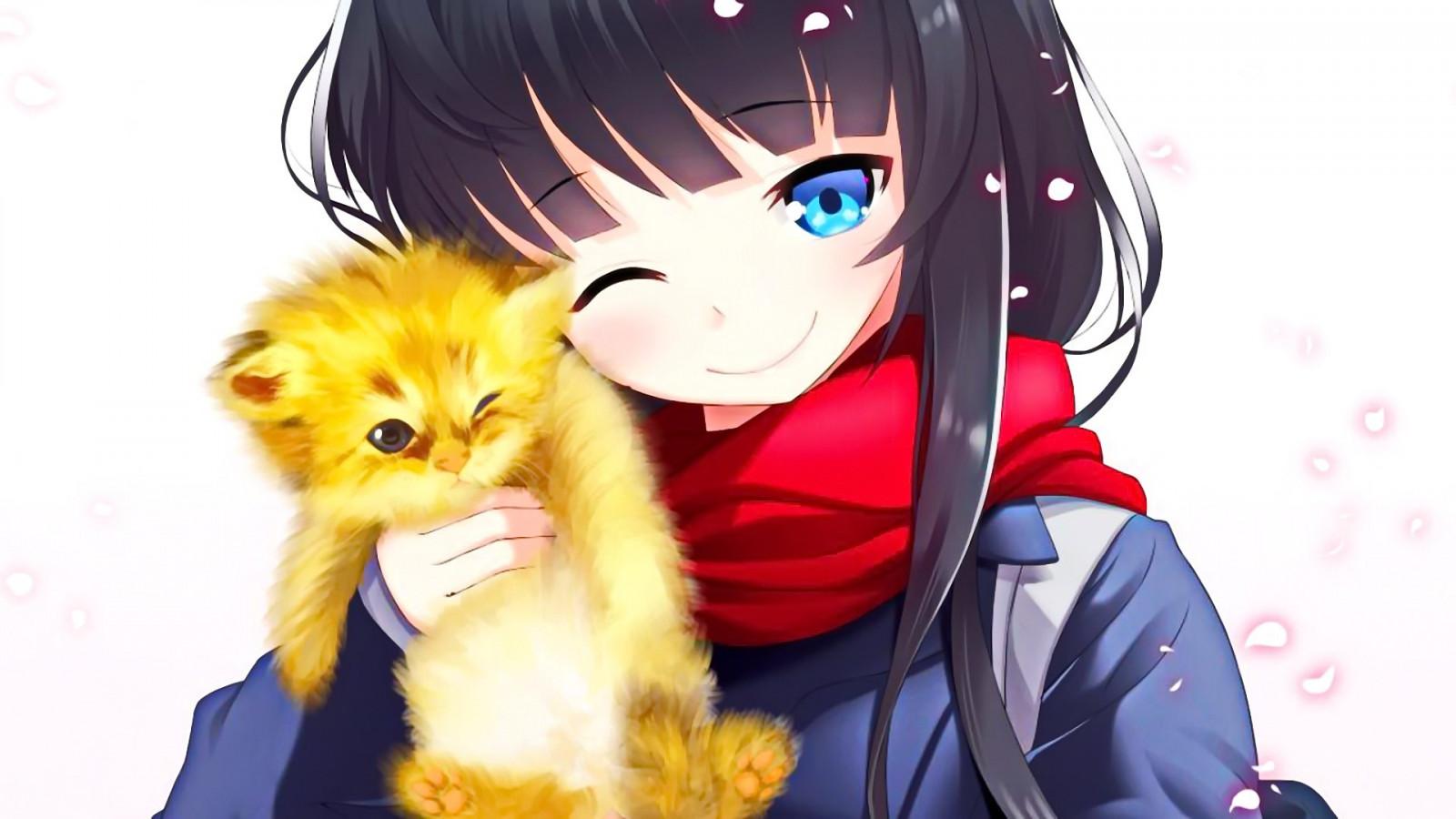 Марта, картинки с котами аниме