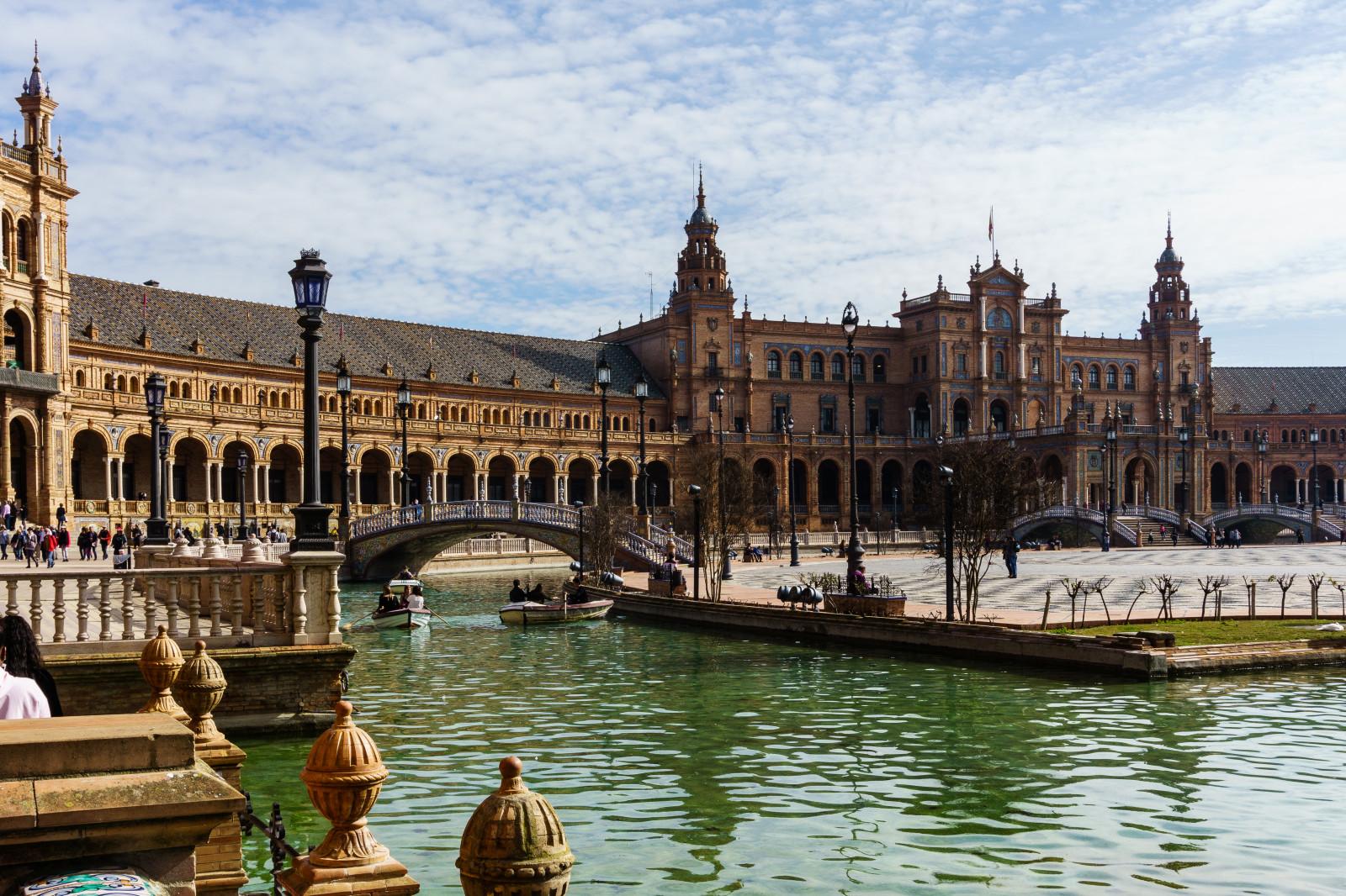 Fond d 39 cran s ville arquitectura b timent andalucia - Eau arquitectura ...