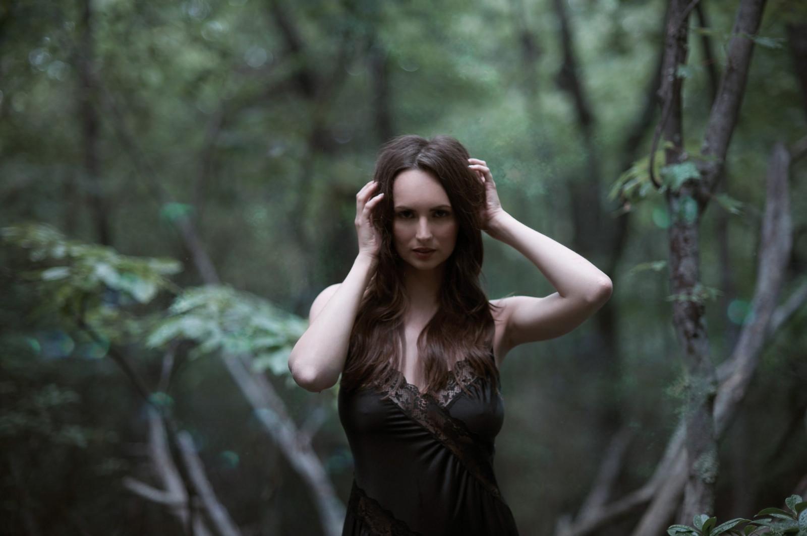 женщины в лесу фото жопа потрясная, даже