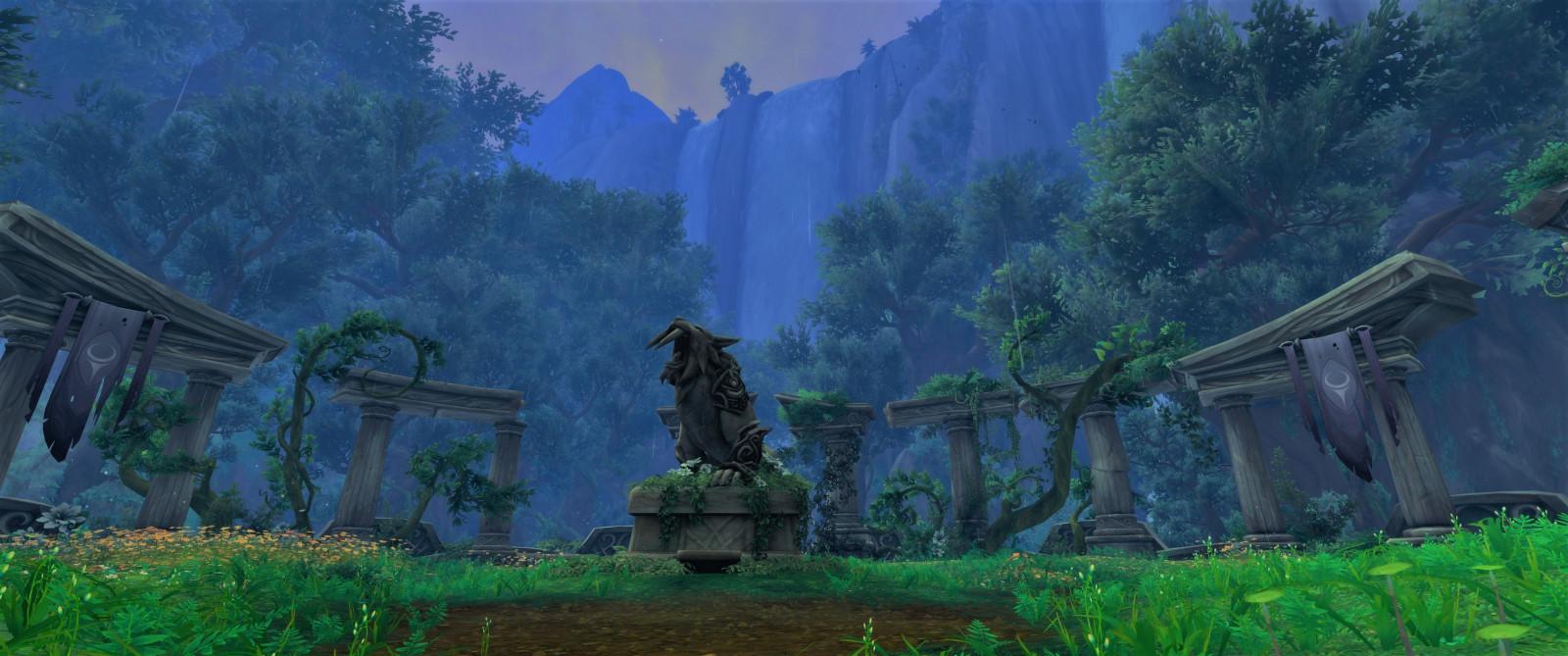 Wallpaper Landscape Grass Sky World Of Warcraft