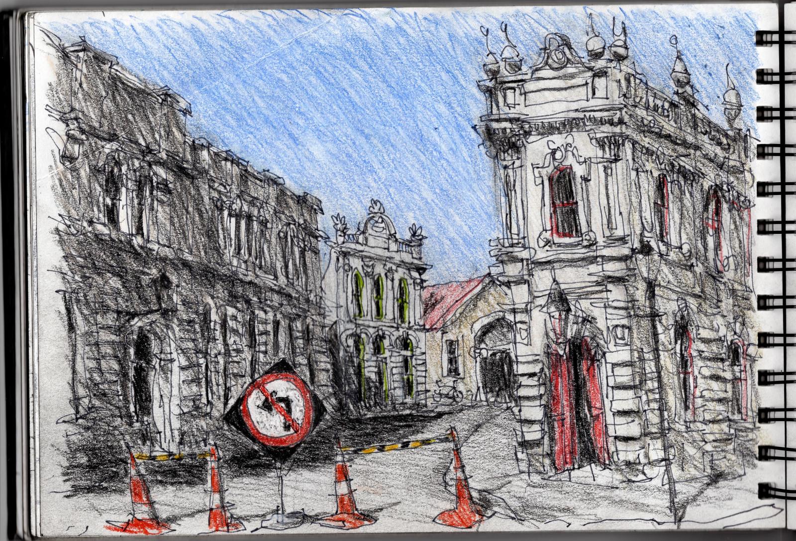 Wallpaper Gambar Jalan Arsitektur Perkotaan Seni Jalanan