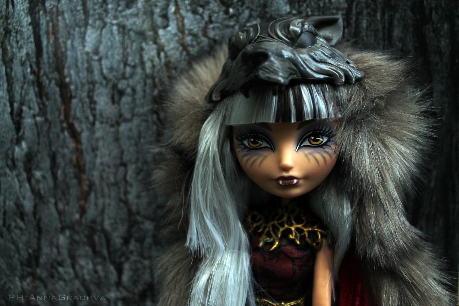 Wolf Mädchen