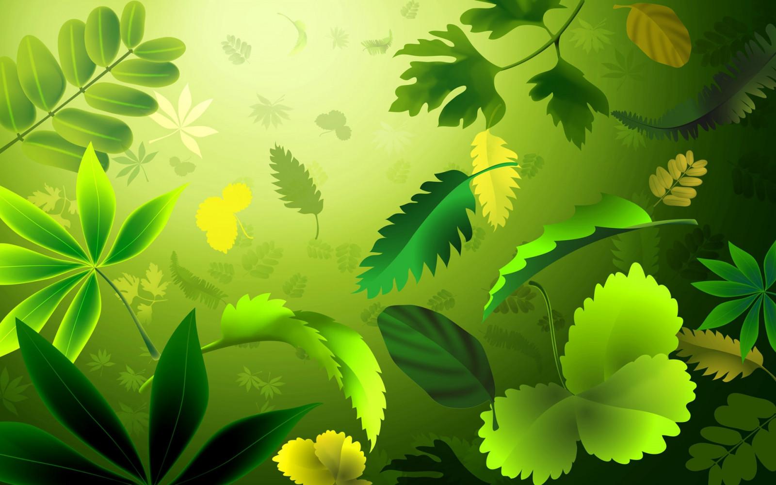 Листья трава узоры