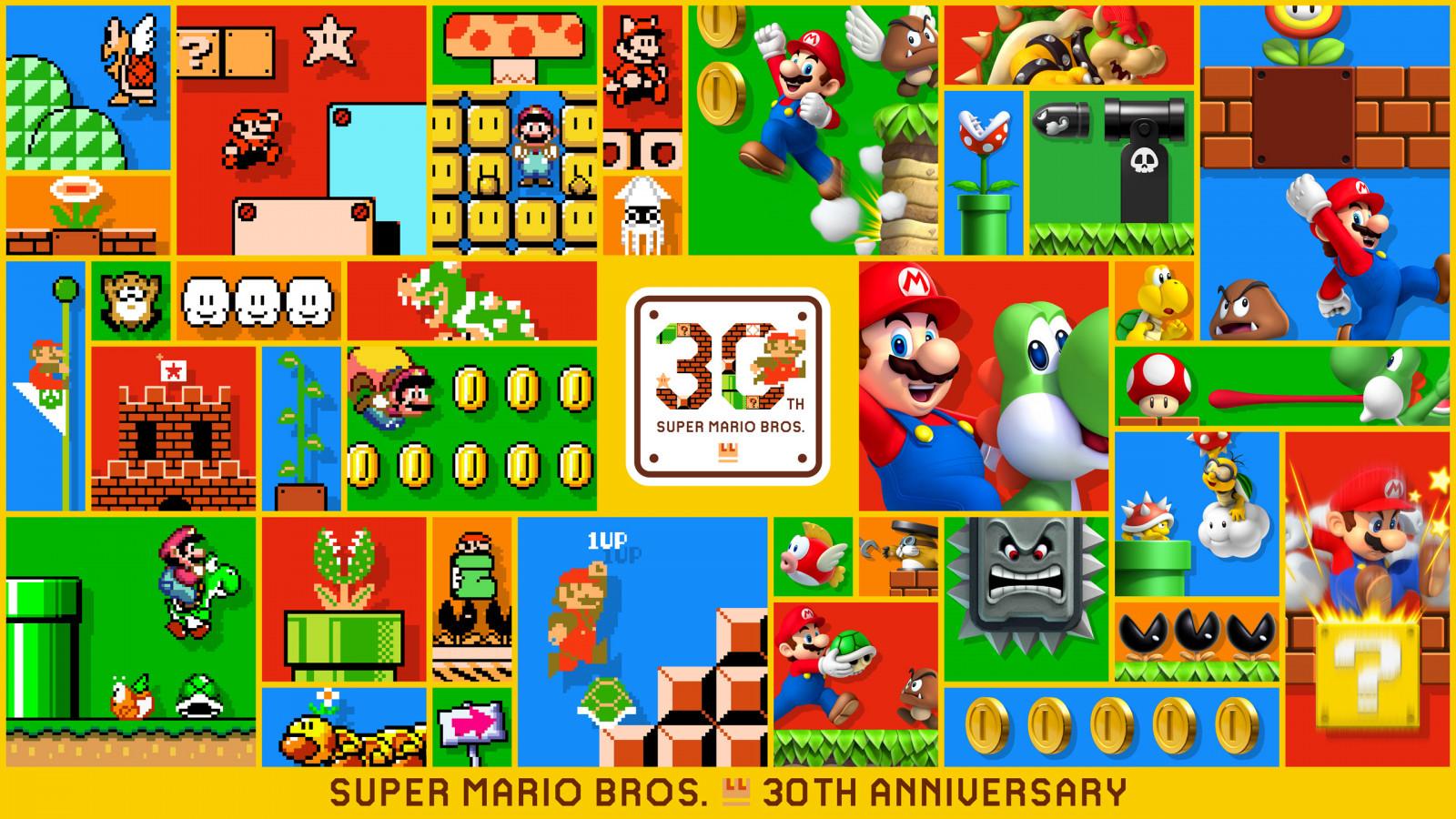 Wallpaper : Super Mario Bros, Super