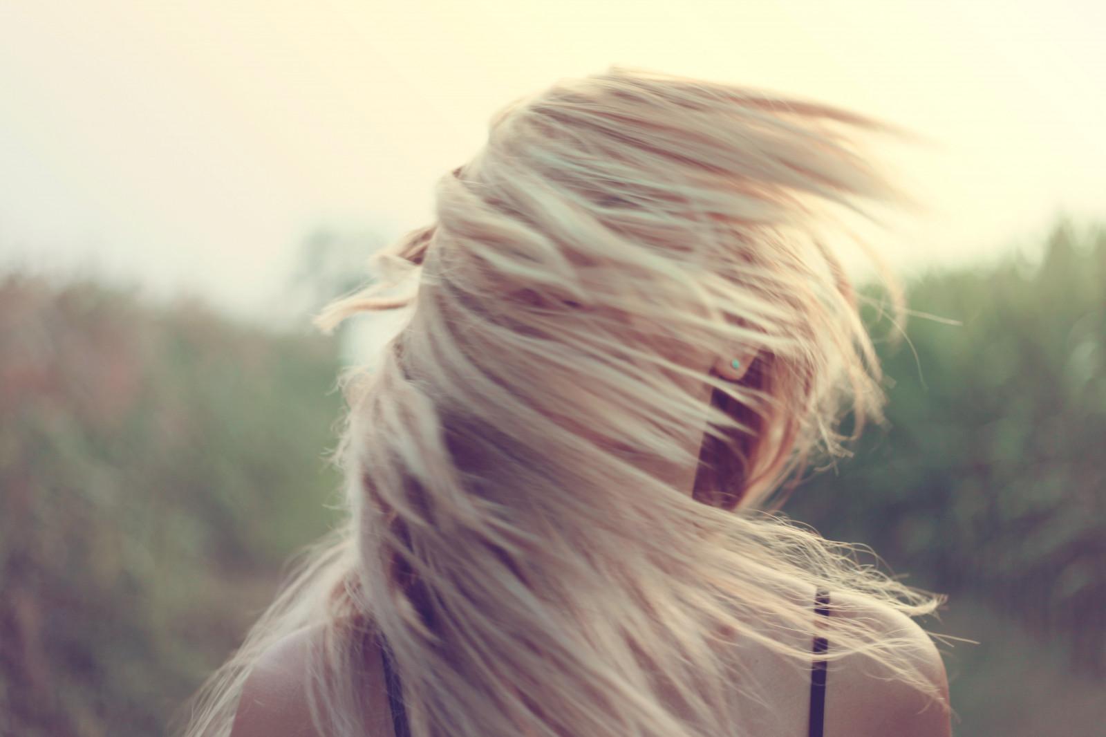 Картинки фото блондинок без лица