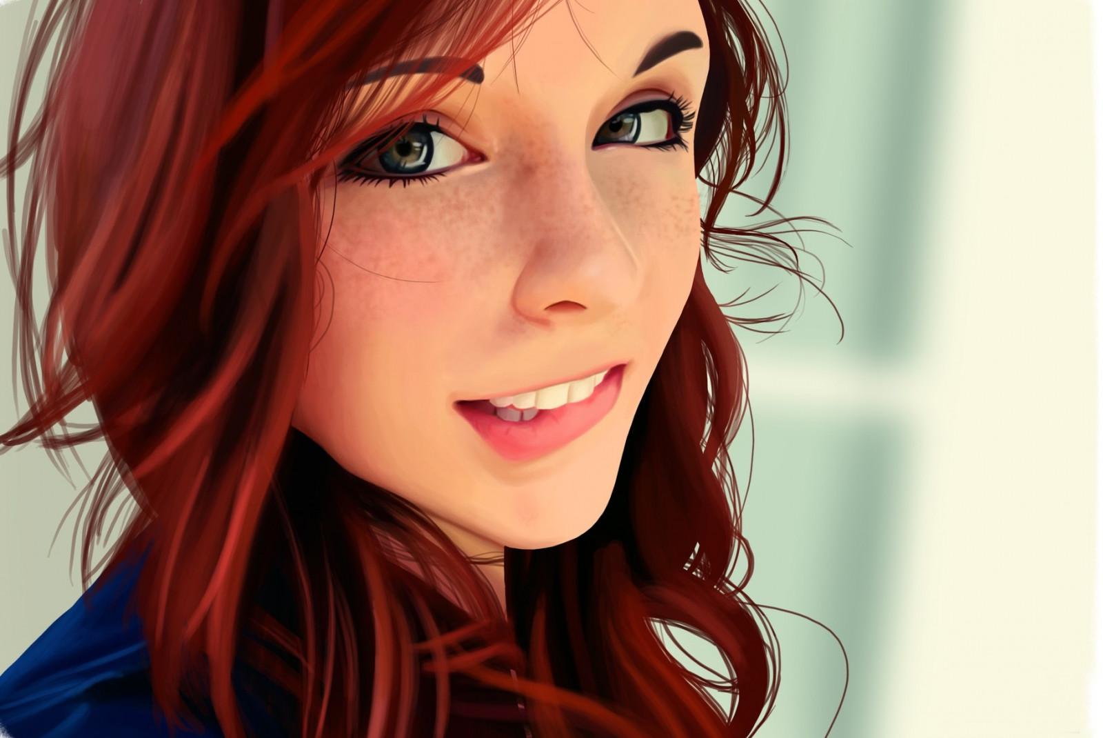 Красивая девушка арт фото