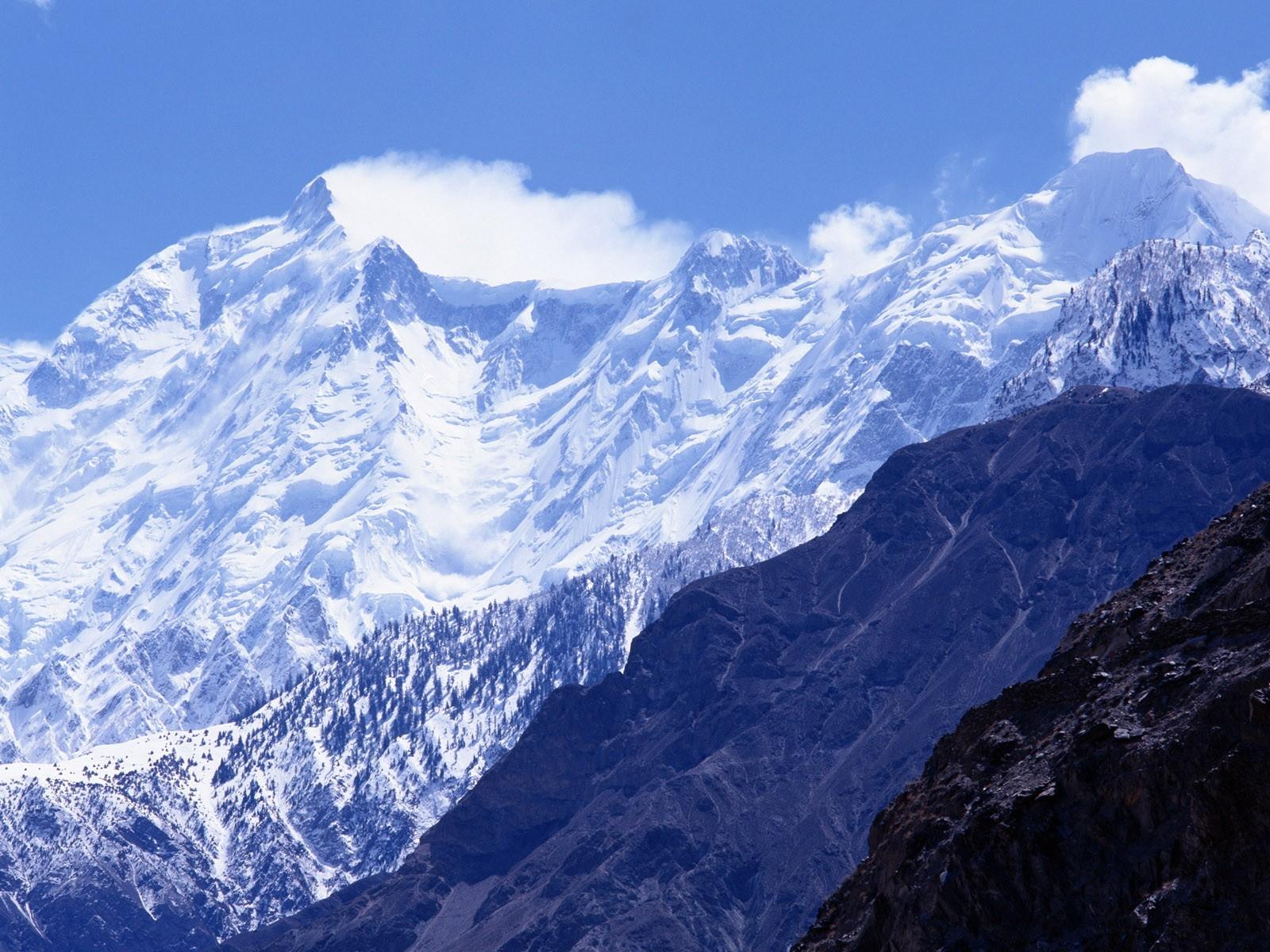 Sfondi Montagne Cielo Ombra La Neve Parete Nuvole Passo Di