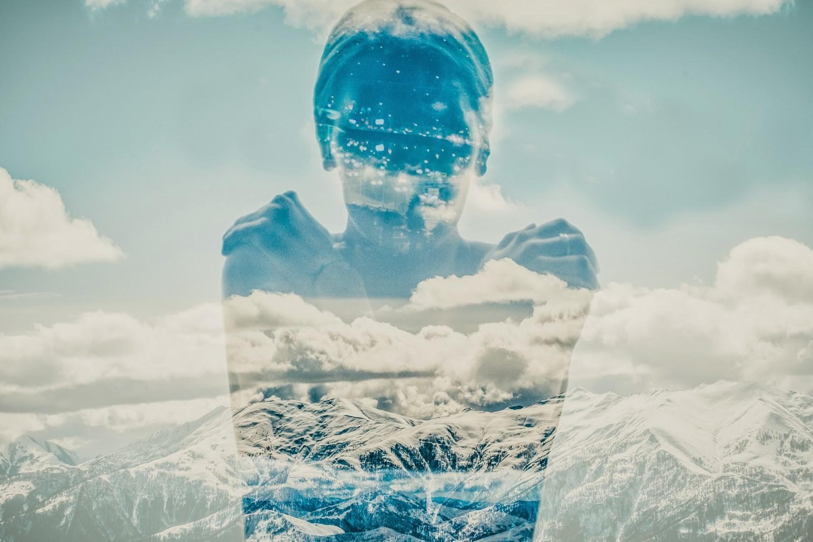 Hình Nền : Núi, Đàn Bà, Bầu Trời, Tuyết, Mùa Đông, Màu Xanh Da Trời, Nước  Đá, Thao Tác Hình Ảnh, Không Khí, Đối Mặt, Bắc Cực, Đóng Băng, Đám Mây, ...