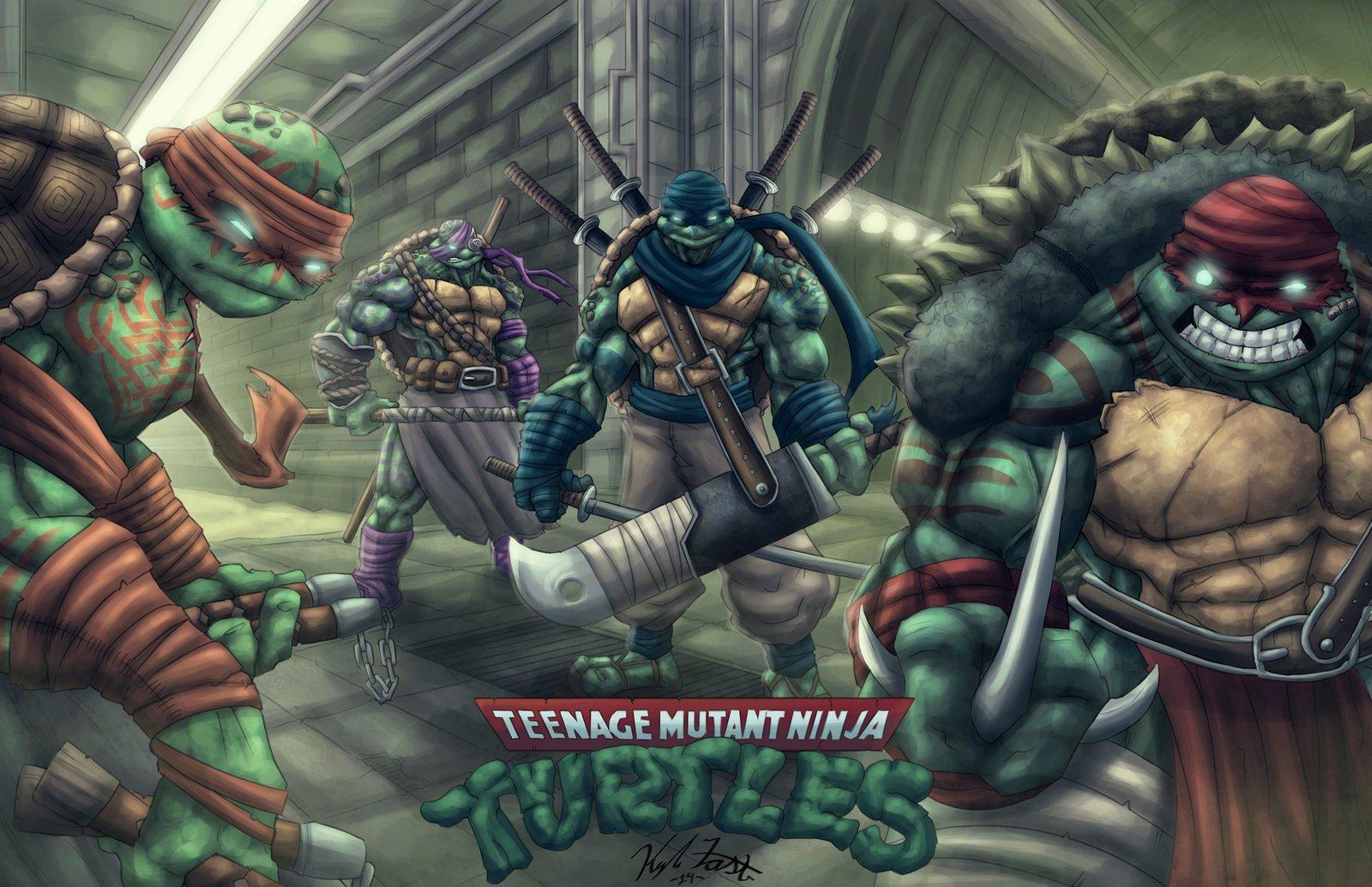 вот картинки черепашки ниндзя монстры против мутантов зона побережье