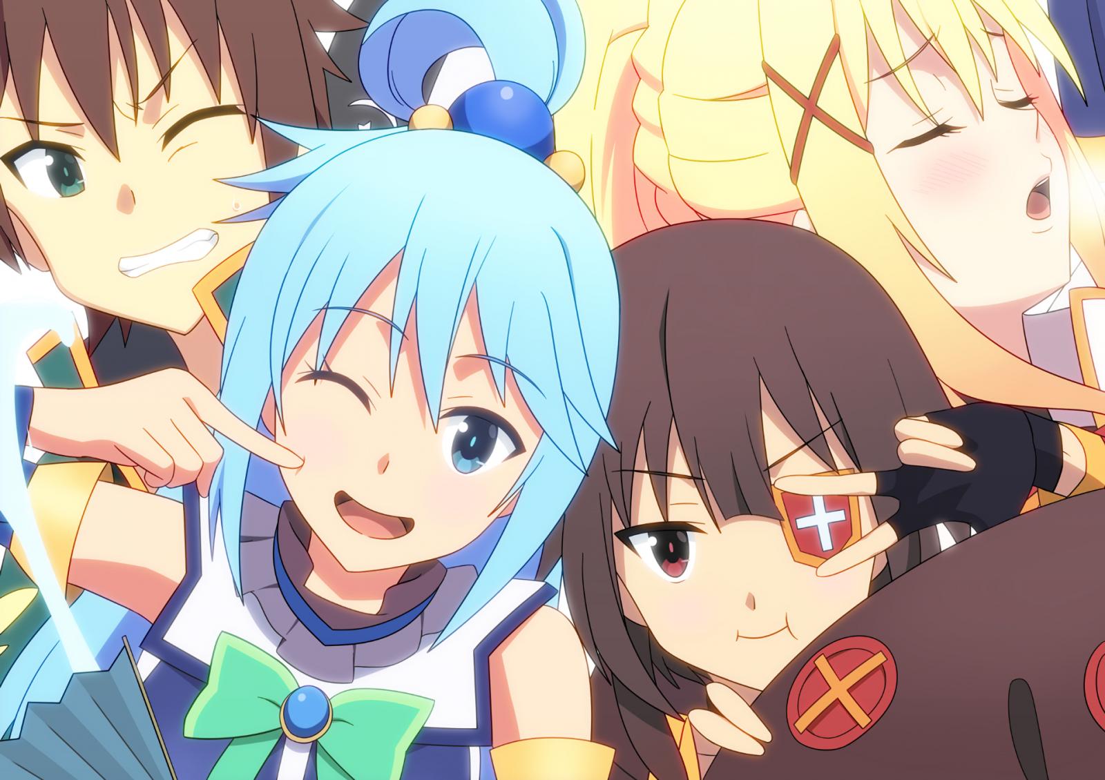Best Isekai anime Konosuba