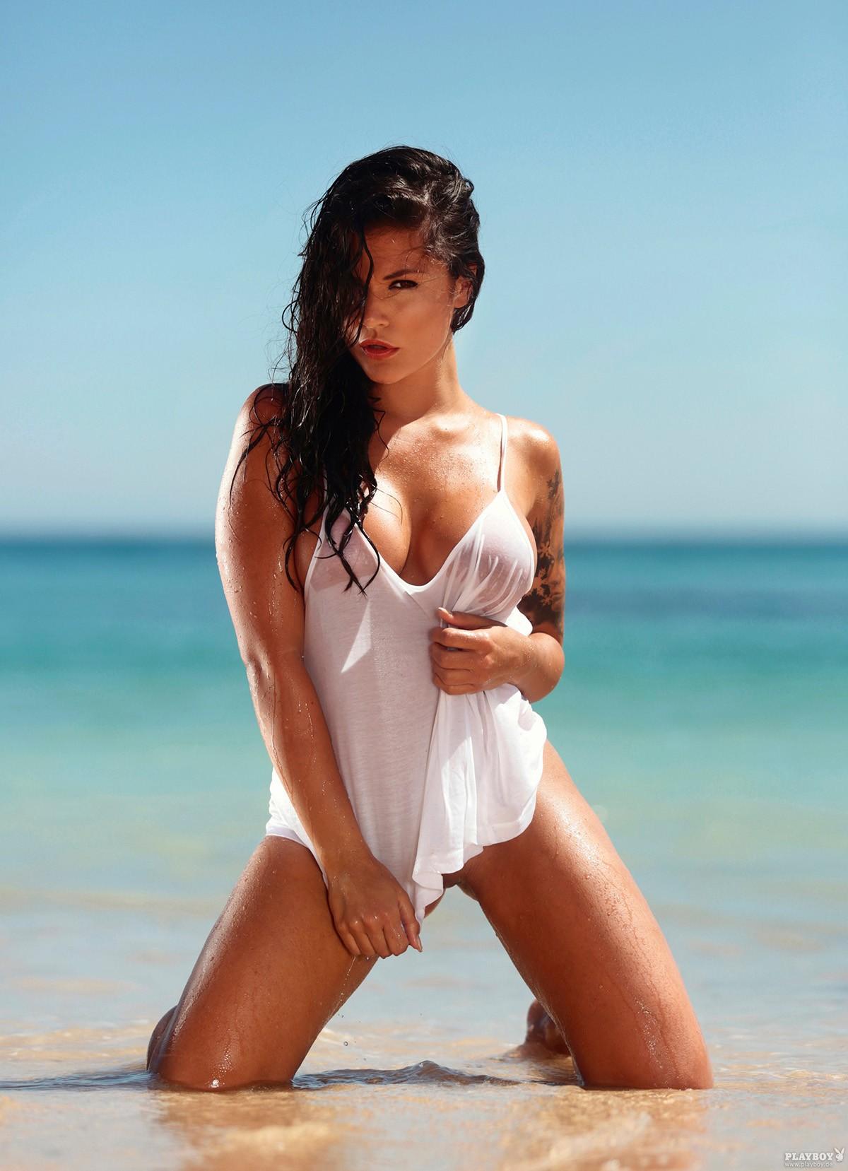 Brunette beach pics 90